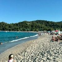 Photo taken at Armenistis Beach by George N. on 7/24/2015