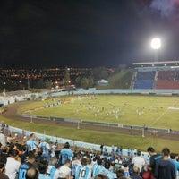 Photo taken at Estádio do Café by Sâmara S. on 8/1/2014