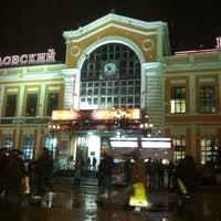 Photo taken at Savyolovsky Rail Terminal by Irina on 11/9/2012