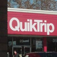 Photo taken at QuikTrip by Stefanie S. on 11/10/2012