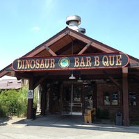 Photo taken at Dinosaur Bar-B-Que by Sara S. on 7/7/2013