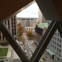 Photo taken at Seattle Central Library by Chris H. on 12/14/2012