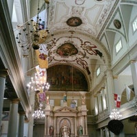 Photo taken at St. Louis Cathedral by Carla F. on 9/22/2012