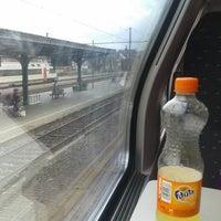 Photo taken at trein gent-denderleeuw by Jonas r 👊👊 on 7/1/2013