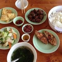 Photo taken at Ho Sen (Lotus restaurant) by Katka M. on 9/8/2013
