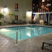 Photo taken at Hampton Inn & Suites St. Petersburg/Downtown by Laura N. on 1/23/2013