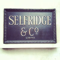 Photo taken at Selfridges & Co by Ming Y. on 1/10/2013
