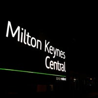 Photo taken at Milton Keynes Central Railway Station (MKC) by Ming Y. on 4/23/2013