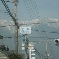 Photo taken at 北浜 交差点 by biwa104 on 2/28/2014