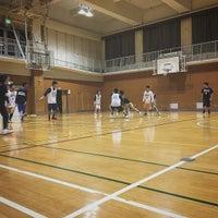 Photo taken at 大阪市立天王寺中学校 by Atsushi S. on 1/15/2017