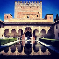 Photo taken at La Alhambra y el Generalife by UMDAlumniAssociation on 5/8/2013