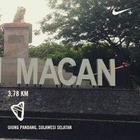 Photo taken at Taman Segitiga Macan by Andi Wishar M. on 4/22/2017