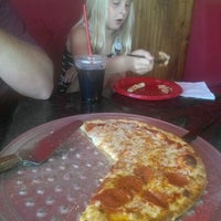 Photo taken at Mia Pizza by Christina C. on 10/9/2012