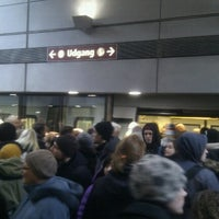 Photo taken at Islands Brygge st. (Metro) by Simon C. on 3/19/2013