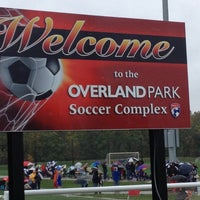 Photo taken at Overland Park Soccer Complex by Brenda R. on 10/13/2012