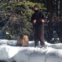 Photo taken at Tahoe Cross Country Ski Area by Michael L. on 1/10/2016
