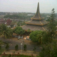 Photo taken at Taman Mini Indonesia Indah (TMII) by Diky C. on 9/15/2012