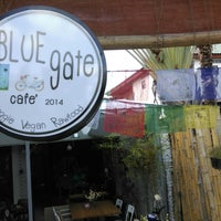 Photo taken at Blue Gate Cafe by omae on 11/15/2014