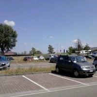 Photo taken at Parcheggio Cellini by Lorenzo M. on 7/5/2013