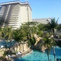 Photo taken at The Fairmont Acapulco Princess by Estefania S. on 12/22/2012