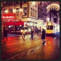 Photo taken at Leidseplein by George K. on 1/25/2013