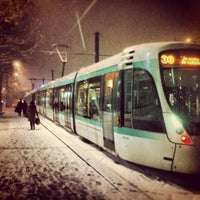 Photo taken at Station Porte de Versailles [T2,T3a] by George K. on 1/18/2013