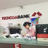Photo taken at Techcombank  Kim Mã by PhongLan N. on 7/4/2016