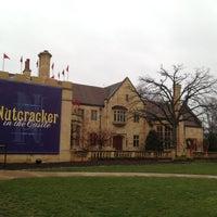 Photo taken at Paine Art Center & Gardens by Mark K. on 12/15/2012