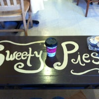 Photo taken at Sweety Pies Bakery * Cakery * Cafe by Taylor M. on 3/29/2013