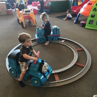 Photo taken at Kinderland Indoor Play and Café by Heather B. on 4/8/2017