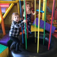Photo taken at Kinderland Indoor Play and Café by Heather B. on 4/14/2017