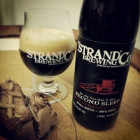 Photo taken at Strand Brewing by Steven T. on 3/7/2013