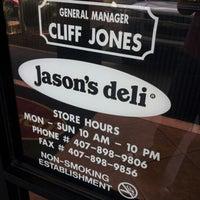 Photo taken at Jason's Deli by Angela L. on 10/18/2012