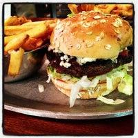 Photo taken at Shula Burger by Sara L. on 12/31/2012