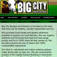 Photo taken at Big City Burgers And Greens by Joe B. on 2/18/2013