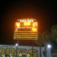 Photo taken at Marcos de Niza Football Field by Rudy R. on 9/14/2013