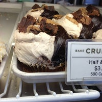 Photo taken at Crumbs Bake Shop by Funda K. on 2/23/2013