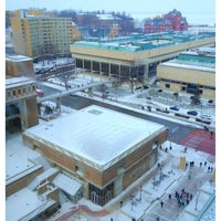 Photo taken at East Campus Mall by Rudy on 1/23/2013