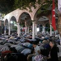Photo taken at Eyüp Sultan Mosque by Şeyda S. on 7/27/2013