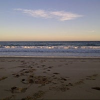 Photo taken at Sardinia Bay Beach by Danny D. on 4/30/2013