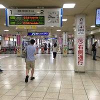 Photo taken at 東武大宮駅 1-2番線ホーム by Tedd O. on 8/6/2017