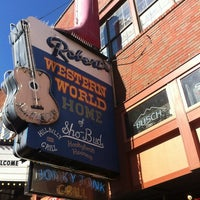 Photo taken at Robert's Western World by Rachel S. on 11/3/2012