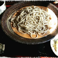 Photo taken at 蕎麦 いけだ by Ryota on 2/27/2013