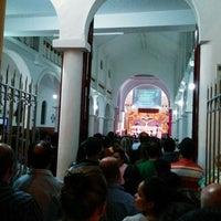 Photo taken at Parroquia de Nuestra Señora del Rosario by Jorge Wilsor B. on 4/19/2014
