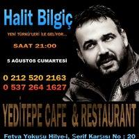 รูปภาพถ่ายที่ İstanbul Yeditepe Teras Cafe Restaurant Nargile โดย Mehmet K. เมื่อ 7/15/2017