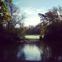 Photo taken at Cannon Hill Park by Philip O. on 10/13/2012