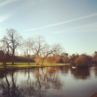 Photo taken at Cannon Hill Park by Philip O. on 12/8/2012