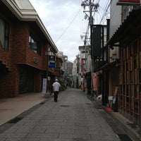 Photo taken at しまんりょ小路 by epole .. on 8/1/2013