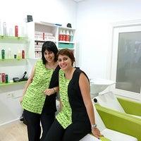 Photo taken at peluquería Green Estilistas by Angel M. on 10/22/2013