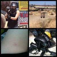 Photo taken at camp Pendleton paintball park by Scratch on 5/27/2013